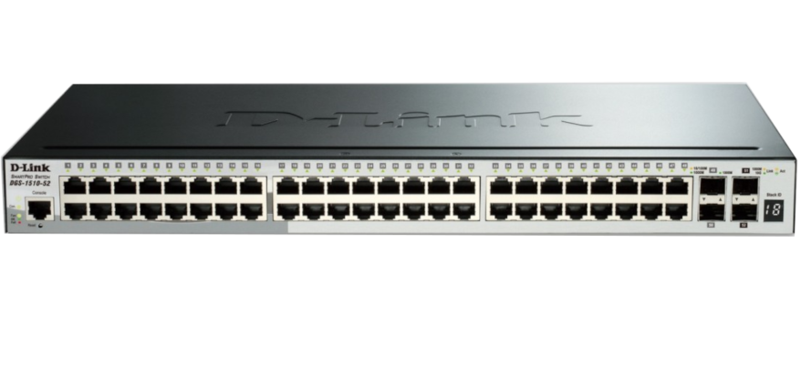 Switch D-Link DGS-1510-52X 48x1GBE, 4xSFP+