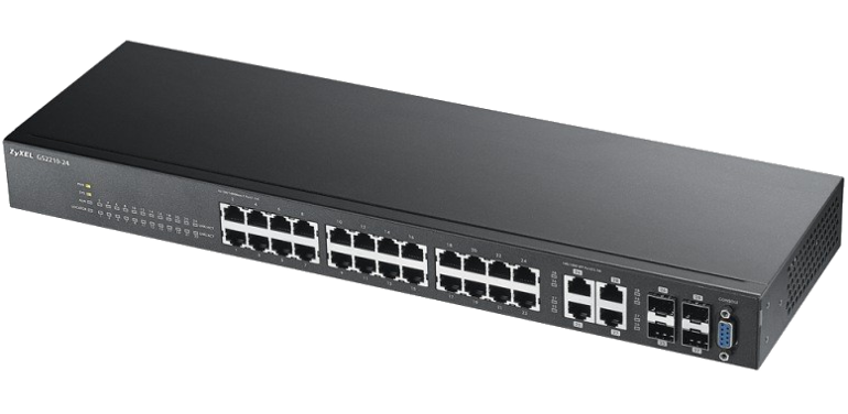 Switch Zyxel GS-2210-24 24xGEth 4xGEth/SFP-Combo