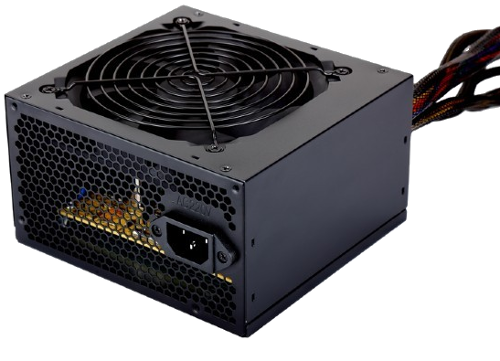 Zasilacz 600W Gembird BLACK POWER 12cm FAN 80 PLUS Bronze (CCC-PSU80P-BBP-600)